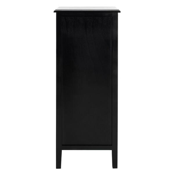 Safavieh Michaela Distressed Black 4 Drawer Storage