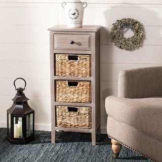 Safavieh Michaela Winter Melody 4-Drawer Storage Side Table