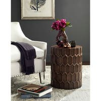 Safavieh Corey Antique Copper Side Tables