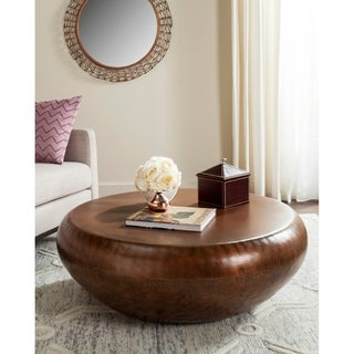 Good Safavieh Patience Copper Coffee Table