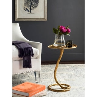 Safavieh Mina Gold Side Table