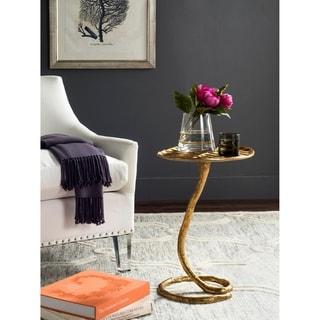 Safavieh Mina Gold Side Table