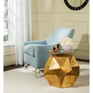 Safavieh Iona Gold Side Table