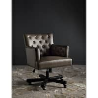 Safavieh Chambers Adjustable Swivel Clay/ Black Desk Chair