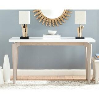 Safavieh Josef White/ Grey Lacquer Console Table