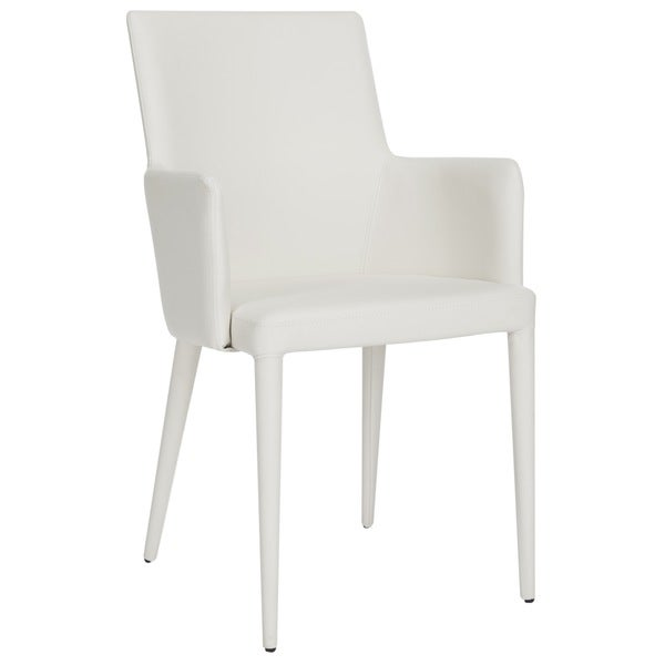 Summerset Patio Furniture.Shop Safavieh Mid Century Dining Summerset Modern White Arm Chair