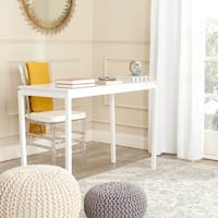 Safavieh Duke Modern White Desk