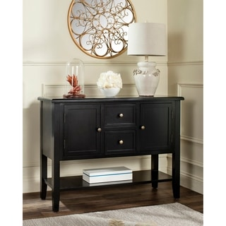 Safavieh Gemma Black 2-Drawer Storage Chest