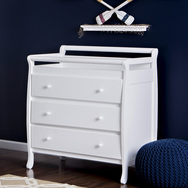 Dream On Me Liberty Collection 3 Drawer Changing Table Natural