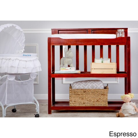 Dream On Me Zoey 3 in 1 Convertible Changing Table, Twin Bed