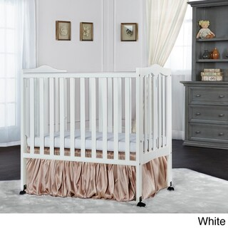 Dream on Me Fold Away Portable Crib (Option: White)