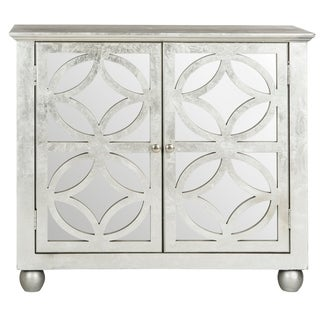 Safavieh Havana Silver Leaf Storage Chest