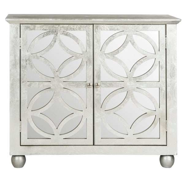 Safavieh Havana Silver Leaf Storage Chest. Opens flyout.