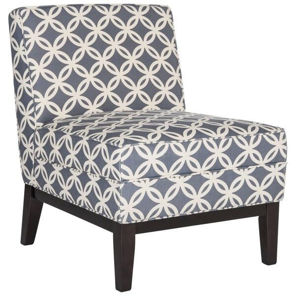 Prime Shop Safavieh Armond Blue Accent Chair On Sale Free Machost Co Dining Chair Design Ideas Machostcouk