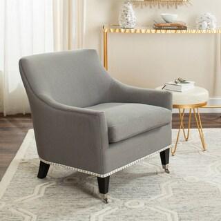 Safavieh En Vogue Dining Barlow Granite Arm Chair