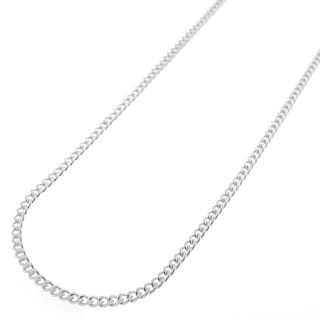 "Link to .925 Solid Sterling Silver 2MM Cuban Curb Link Necklace Chain 16"" - 30"", Silver Chain for Men & Women, Made in Italy Similar Items in Men's Jewelry"