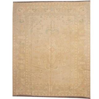 Herat Oriental Afghan Hand-woven Tribal Soumak Kilim Wool Rug (6'8 x 8')