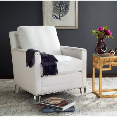 Top Rated - White Living Room Chairs | Shop Online at Overstock