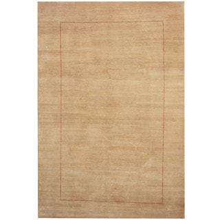 Herat Oriental Indo Hand-knotted Tribal Gabbeh Wool Rug (6'6 x 9'9)