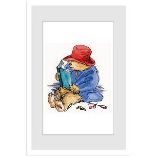 Marmont Hill 'Reading is Fun' Paddington Bear by Peggy Fortnum Painting Print on Frame Print