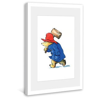 Marmont Hill 'On a Mission' Paddington Bear by Peggy Fortnum Painting Print on Frame Print