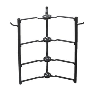 Black Pot Pan Rack Cabinet and Pantry Organizer