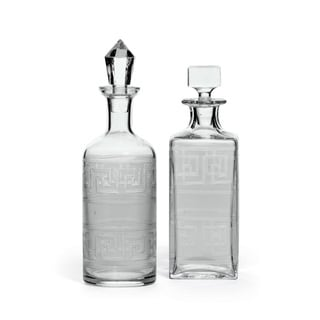 Link to Handcrafted Birchy Decanters (Set of 2) Similar Items in Glasses & Barware