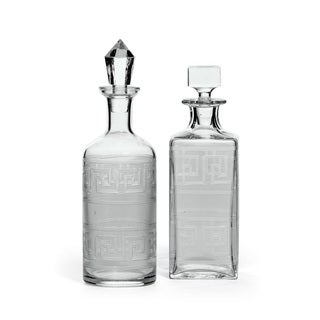Set of Two Birchy Decanters