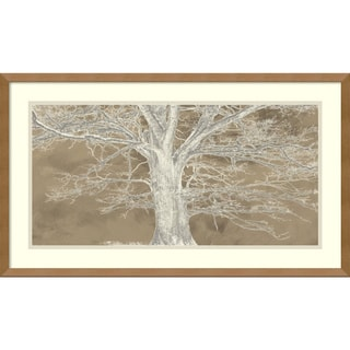 Framed Art Print 'White Oak' by Alessio Aprile 29 x 17-inch