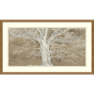 Alessio Aprile 'White Oak' Framed Art Print 29 x 17-inch