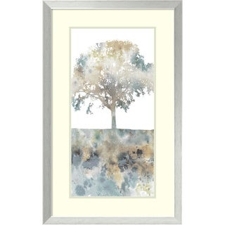 Fontaine Stephane 'Water Tree I' Framed Art Print 20 x 32-inch
