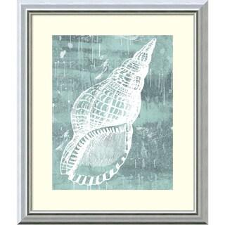 Sabine Berg 'Ocean Tokens II' Framed Art Print 17 x 20-inch