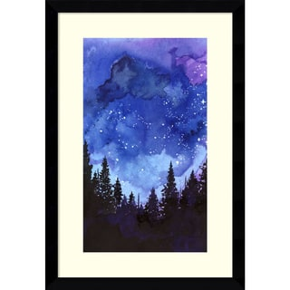 Jessica Durrant 'Let's Go See The Stars' Framed Art Print 11 x 16-inch