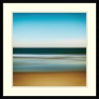 Framed Art Print 'Sea Stripes I' by Katherine Gendreau 23 x 23-inch