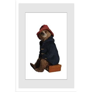 Marmont Hill 'Picture Perfect' Paddington Bear by Peggy Fortnum Painting Print on Frame Print