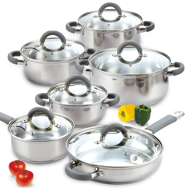cooks 12 piece stainless steel