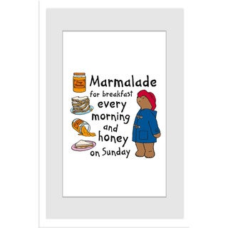 Marmont Hill 'Marmalade for Breakfast' Paddington Bear by Peggy Fortnum Painting Print on Frame Print