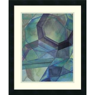 Grace Popp 'Gemstones III' Framed Art Print 18 x 22-inch