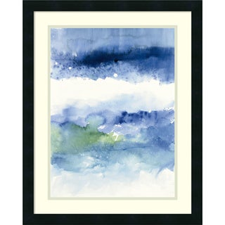 Framed Art Print 'Midnight at the Lake' by Mike Schick 20 x 25-inch