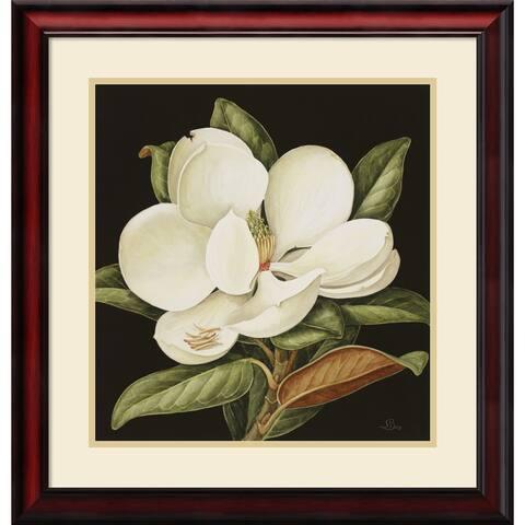 Framed Art Print 'Magnolia Grandiflora, 2003' by Jenny Barron 24 x 25-inch