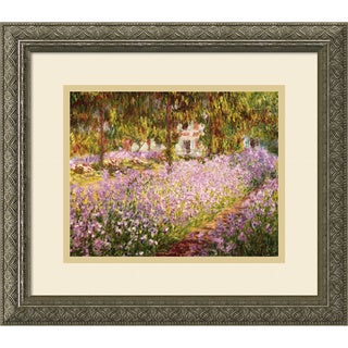 Claude Monet 'The Garden at Giverny, 1900' Framed Art Print 16 x 14-inch