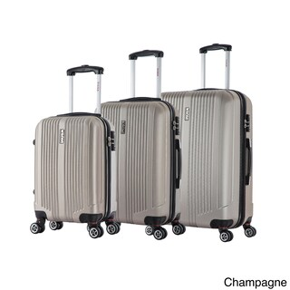 InUSA San Francisco 3-piece Lightweight Hardside Spinner Luggage Set