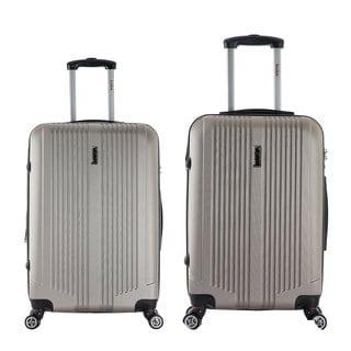 InUSA San Francisco Lightweight Hardside Spinner 2-piece Luggage Set