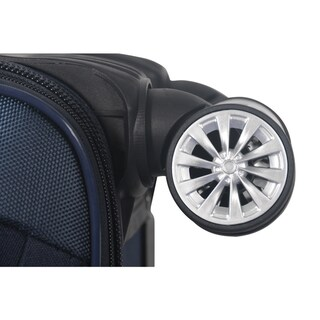 Brio Luggage 22-inch Carry-on Spinner Upright Suitcase