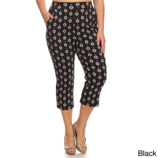 MOA Collection Plus Women's Pattern Pants (More options available)