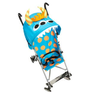Cosco Character Umbrella Stroller in Monster Syd Umbrella Stroller|https://ak1.ostkcdn.com/images/products/11408897/P18373489.jpg?impolicy=medium