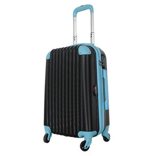 Brio Luggage 22-inch Hardside Carry-on Spinner Upright Suitcase
