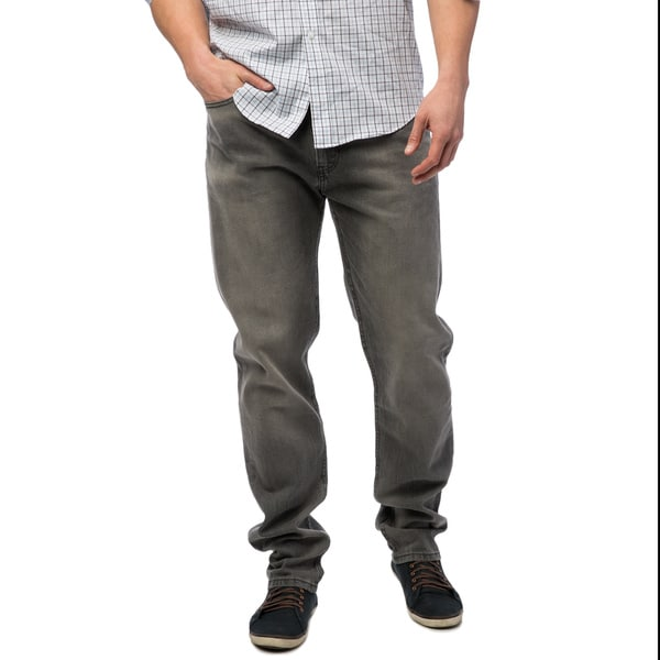 ad24c5c052b Shop Levi's 508 Men's Grey Regular Tapered Fit Jeans - Free Shipping ...