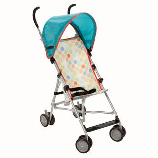 Cosco Umbrella Stroller with Canopy in Dots|https://ak1.ostkcdn.com/images/products/11408945/P18373537.jpg?impolicy=medium