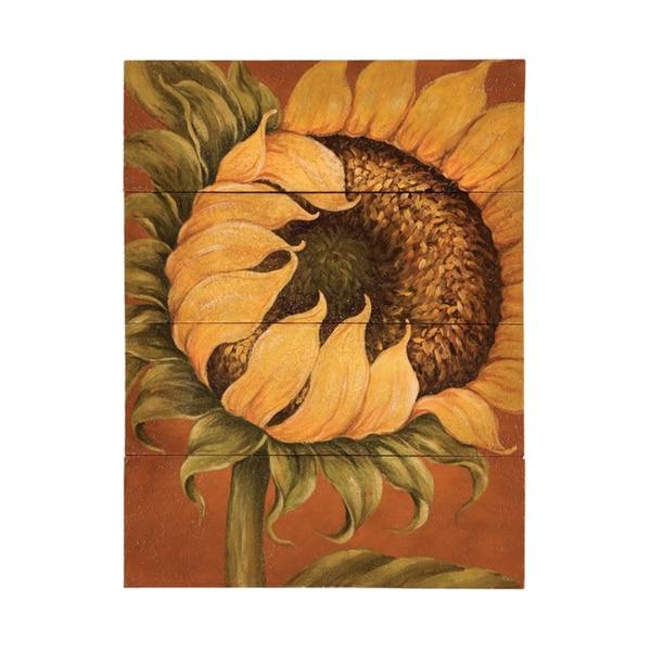 Guildmaster Tuscan Sunflower Wall Art   Yellow/Red